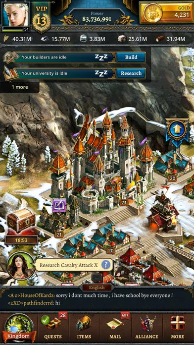 Age of Lords: Legends & Rebels iPhone Screenshot