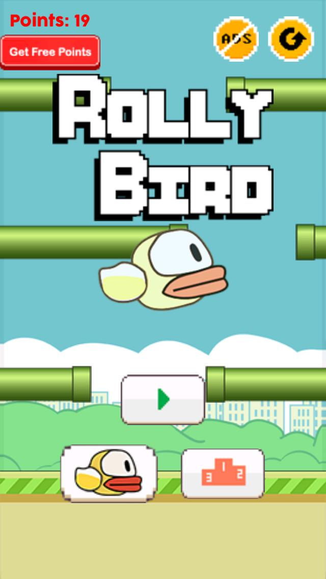 Rolly Bird iPhone Screenshot
