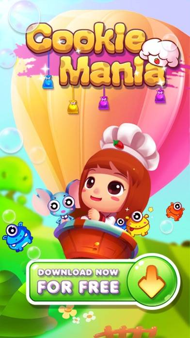 Cookie Splash Mania iPhone Screenshot
