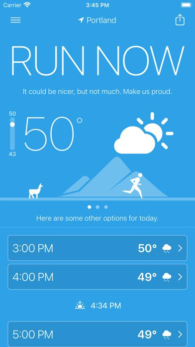 Runcast - Weather for Runners iOS