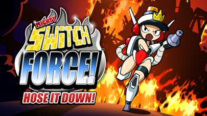 Mighty Switch Force! Hose It Down! iPhone Screenshot