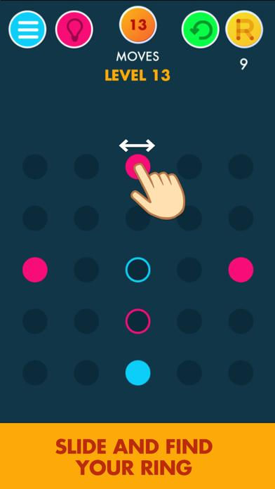 Ring: The puzzle iPhone Screenshot