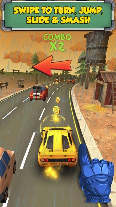 Road Surfers Dash iPhone Screenshot