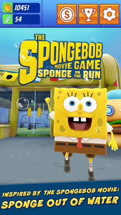 SpongeBob: Sponge on the Run iPhone Screenshot