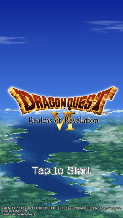 DRAGON QUEST VI iPhone Screenshot