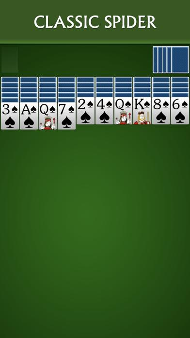 Spider Solitaire Free by Solebon iPhone Screenshot