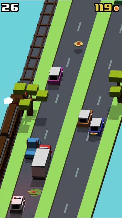 Smashy Road iPhone Screenshot