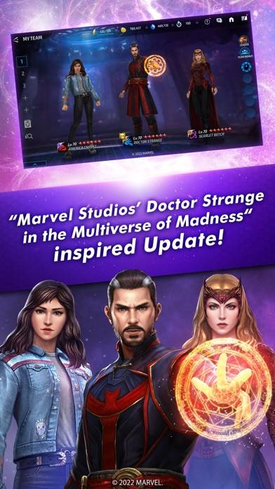 MARVEL Future Fight iPhone Screenshot