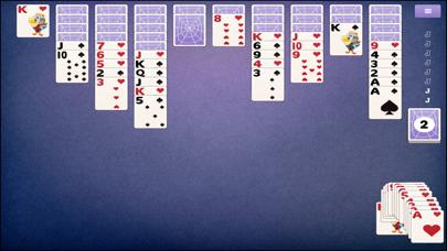 Spider Solitaire 3 iPhone Screenshot