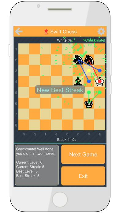 Swift Chess: Endgame Puzzles iPhone Screenshot
