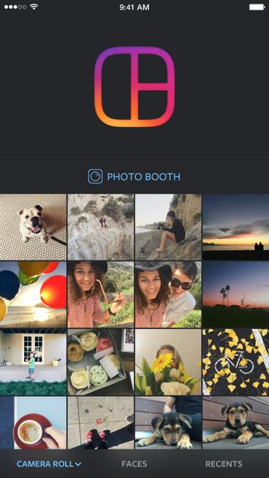 Layout from Instagram iOS