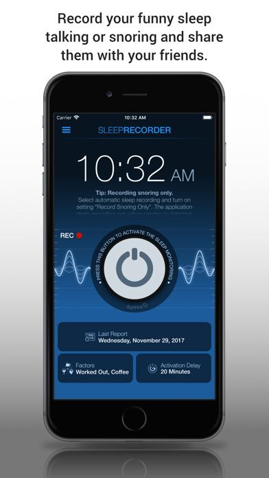 Sleep Talk & Snoring Recorder iOS
