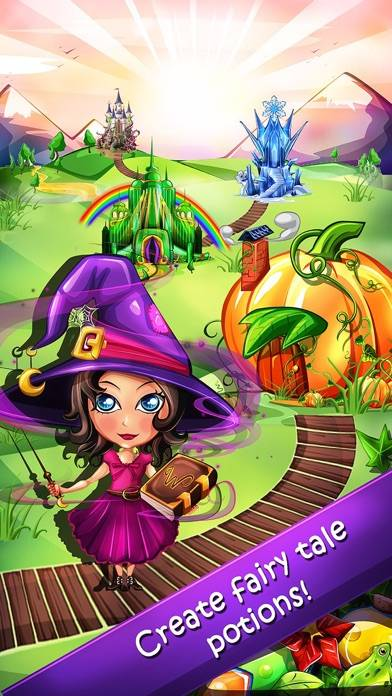 Witchy World iPhone Screenshot