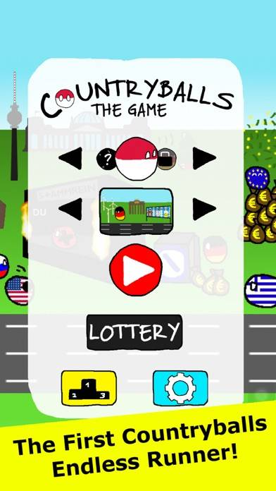 Countryballs iPhone Screenshot