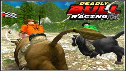 Deadly Bull Racing iPhone Screenshot