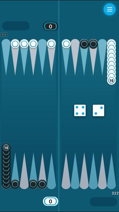 Backgammon Long iPhone Screenshot