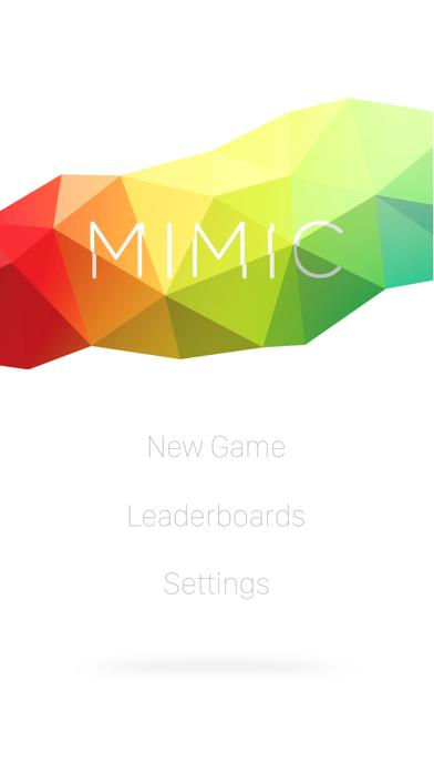 Mimic: The Game iPhone Screenshot