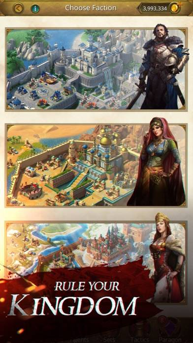 March of Empires iPhone Screenshot