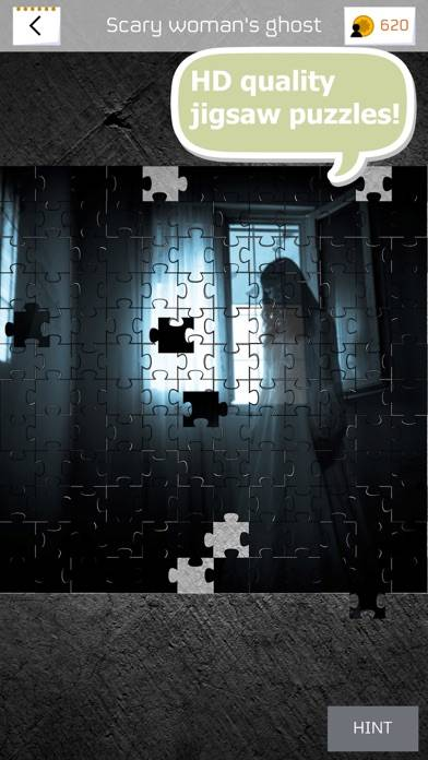 Horror Puzzle iPhone Screenshot