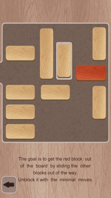 Slide and Unblock! Unlock red plank (ad-free) iPhone Screenshot
