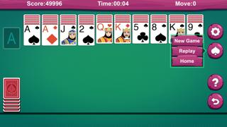 Card: Spider Solitaire ^ iPhone Screenshot