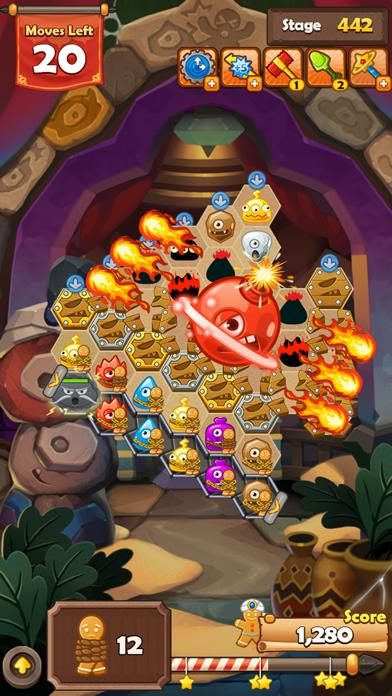 Monster Busters: Hexa Blast iPhone Screenshot