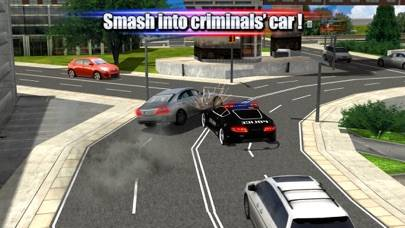 Crime Town Police Car Driver iPhone Screenshot