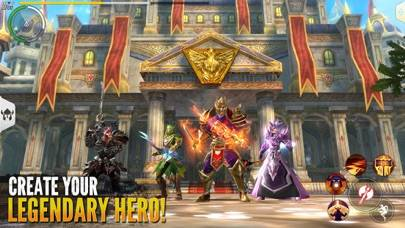 Order & Chaos 2: Redemption iPhone Screenshot
