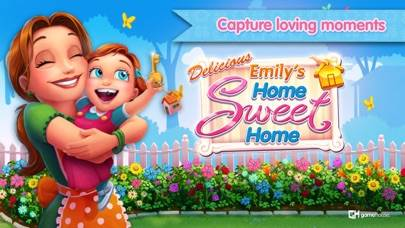 Delicious: Emily's Home Sweet Home iPhone Screenshot