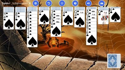Spider Solitaire iPhone Screenshot
