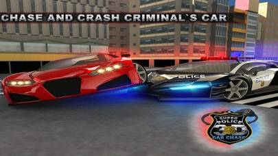 Super Police Car Chase 3D iPhone Screenshot