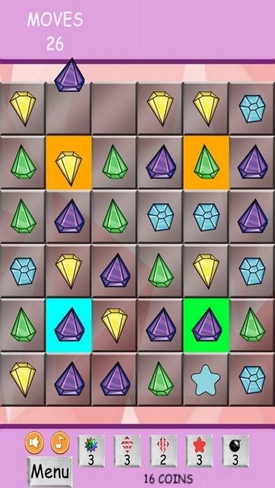 Doodle Diamonds iPhone Screenshot