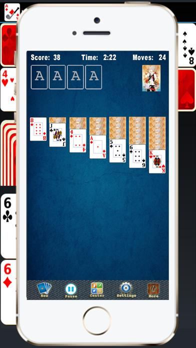 Solitaire Spider FreeCell Classic iPhone Screenshot