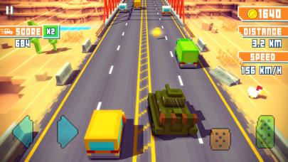 Blocky Highway iPhone Screenshot