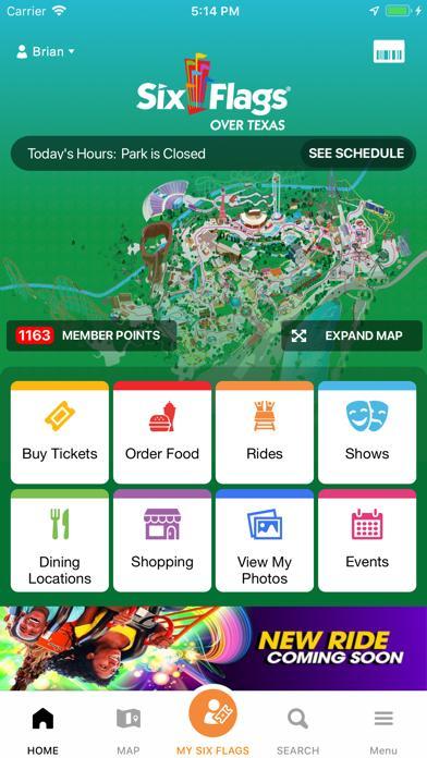 Six Flags screenshot 1