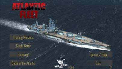 Atlantic Fleet iPhone Screenshot