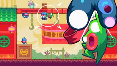 Green Ninja: Year of the Frog iPhone Screenshot