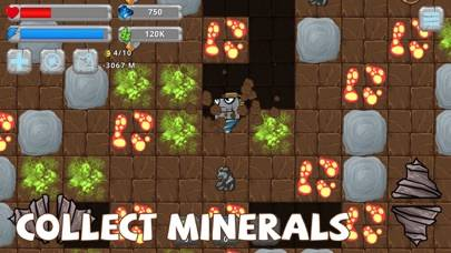 Digger Machine dig and find minerals iPhone Screenshot