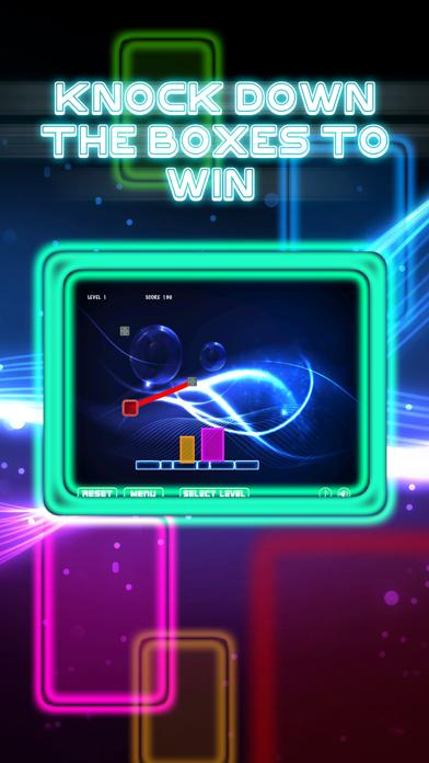 Glow Ball Swing and Blast iPhone Screenshot