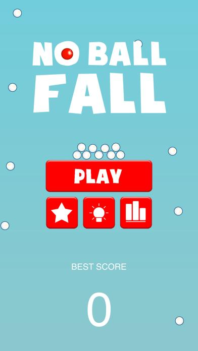 No ball fall iPhone Screenshot