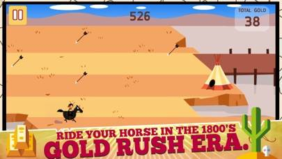 Texas Gold Rush iPhone Screenshot
