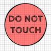 Don't Touch Red! iOS Icon