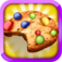 Awesome Cream Cookies Dessert Bakery iOS Icon