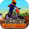Blocky Dirt Bike iOS Icon