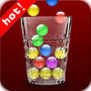 Candy balls-fall down the cups app icon
