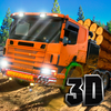 Timber Truck Driving Simulator 3D Full app icon