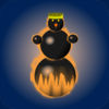 Snowman Race 3D iOS Icon