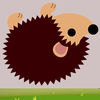 Free Brown Hedgehog Rolling app icon