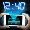 Hologram Clock 3D Simulator iOS Icon
