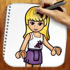 Easy Draw Lego Friends Edition iOS Icon